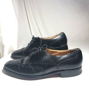 Johnston & Murphy 10.5 Black Brogue Aristocraft